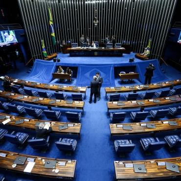 21/06/2017- Brasília- DF, Brasil- Sessão deliberativa extraordinária no plenário do Senado  Foto: Marcelo Camargo/Agência Brasil